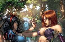The Zenescope Takes a Look at Cartoons Behind the Scenes