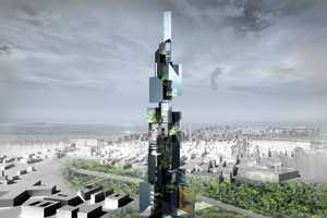 The 'Taichung Tower' is a Monumental Manifestation of the Sky