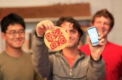 Tortilla QR Codes - The Edible QR Competition Creates Tasty Mobile Marketing