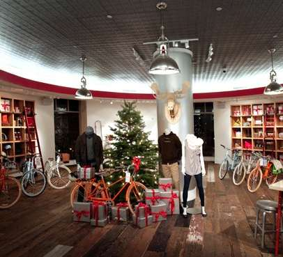 Bike Boutique Shops - The GAP 'PUBLIC' Pop-Up Bicycle Store Expands the Retailer's Repertoire