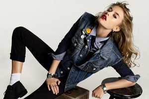 Simon Burstall Snaps Boyish Shots of Keke Lindgard for Elle Magazine