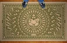Religious Dude Rugs