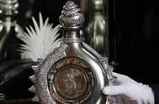 Ultra-Ritzy Tequila - The Hacienda La Capilla 'The Diamond Sterling' is all Extravagance