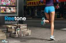 Rump-Shaping Runners - The Reebok Reetone Runtone Sneakers Will Build Your Butt