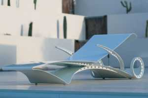 The D-Lux Sun Lounger is Inspired by the Female Form