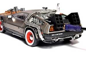 The 'Back to the Future' DeLorean Hard Drive is Geekstastic