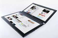 Multi-Screened Notebooks - Acer Iconia Doubles Up Your Viewing Pleasure