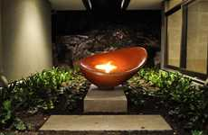 Contemporary Sculptural Fireplaces