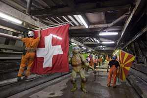 Djordje Djukanovic Makes the Gothard Tunnel Safe from Shredder