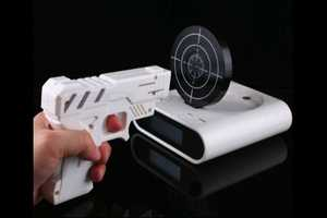 Wake and Wield with the 'Gun Shooting Alarm Clock'