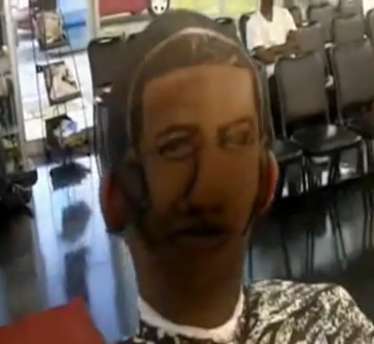 drake s face haircut