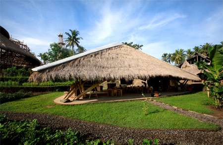 Eco Educational Facilities - The Green School in Bali is Powered Entirely by Clean Sources