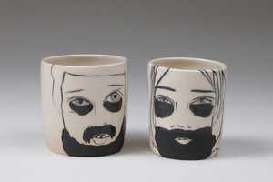 Lerf Ewe Ceramic Cups are Mugs Emblazoned with Mugs