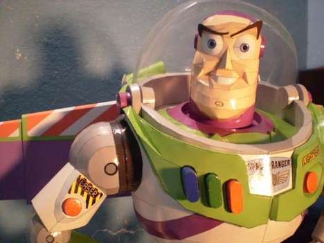 Buzz Lightyear Paper Craft