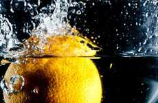 Fruit-Splashing Photography - Get Ready to Splish-Splash Around the 'Cook Your Dream' Photoshoot