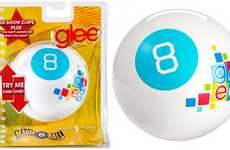 Musical Prediction Toys - The Glee Magic 8 Ball Sings Cast Members' Recordings