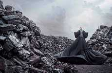 Epic Apocalyptic Photography - Julius Bramanto's 'Odd and Ends' Editorial for Amica