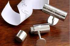 Hidden Message Cuff-Links