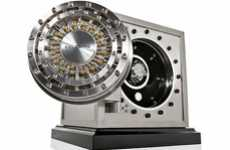 Luxury Wristwatch Vaults - The Doettling 'Colosimo' Safe Will Cushion Your Chronograph