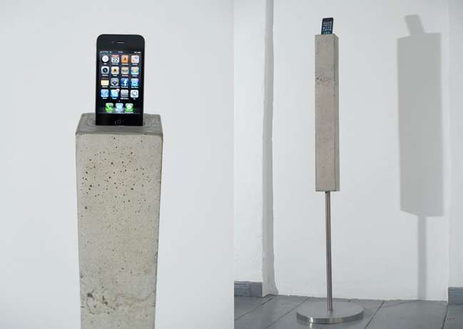 Sculptural Smartphone Stands