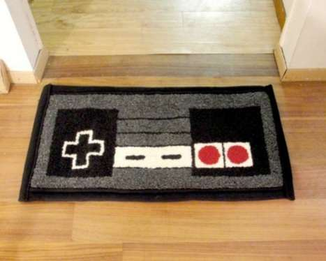Nintendo Controller Rug