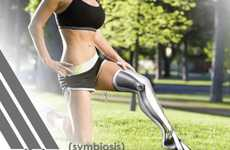 Athletic Designer Prosthetics - The Adidas Symbiosis Provides More Organic Movement