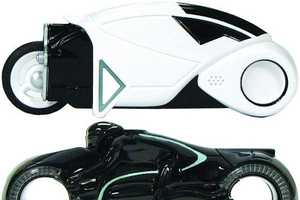 The TRON Light Cycle USB is Appropriate and Practical