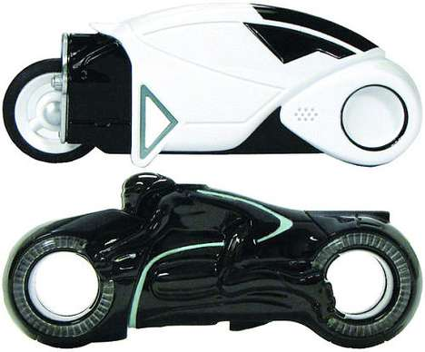 TRON Light Cycle USB