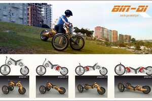 The Ts-Tricycle Features Four Different Ways to Ride