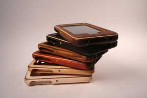 The 'Substrata Wood Case' for Apple iPhones and iPads