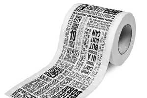 Educational Toilet Experiences With the 'Things We Didn't Know Loo Roll'