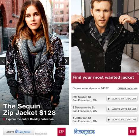 gap foursquare deals