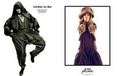 Dual-Tempered Editorials - Volume 9 of 160g Magazine Features Conflicting Fashions