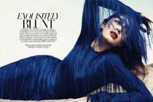 Emily Blunt is Ravishing for Harper's Bazaar January 2011