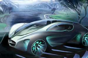 The Mercedes Benz 'Biome' Concept is Organic in Origin