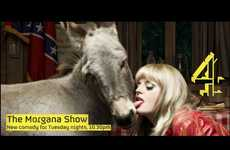 Untamed Ads for 'The Morgana Show' on Channel 4