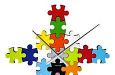 Jigsaw Wall Clocks