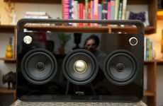 Revamped Retro Speakers - the TDK Boombox is a Modern, Tricked-Out Ghetto Blaster
