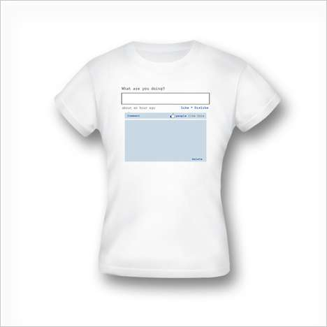 Status Update T-Shirts - Share & Wear Your Status With the UpdateMeTee Shirt