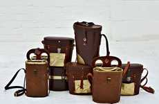 Upcycled Binocular Bags - The Vintage Studio Toogood 'Binbags' are Awesome and Original