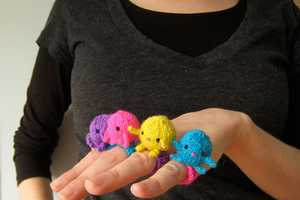 Mochimochiland Creates Wearable Knitted Toy Art