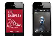 Interactive Fitting Rooms - Try on Any Pair of Shoes with the Converse Sampler iPhone App