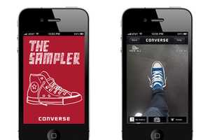 Try on Any Pair of Shoes with the Converse Sampler iPhone App