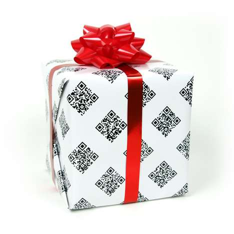 Interactive Gift Wrap - The QRapping Paper Might Make the Present Inside Irrelevant
