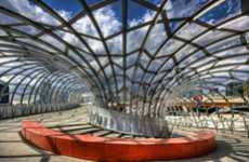 Arachnid-Inspired Architecture - The Webb Bridge is Modelled After the Koori Eel Trap