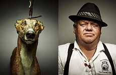 The Toby Dixon 'The Lure' Series Captures Dog Racing Frequenters