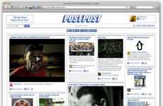 Facebook Newspapers - This PostPost App is a Real-Time Social Newspaper from Your FB Networks