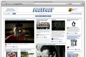 This PostPost App is a Real-Time Social Newspaper from Your FB Networks