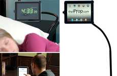 Tall Tablet Props - The iProp iPad Stand Positions Your Gadget for Ultimate Convenience