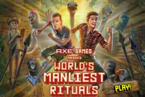 The Axe 'World's Manliest Game' Challenges Your Manliness